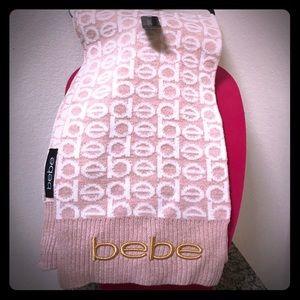 Bebe monogrammed scarf 🧣